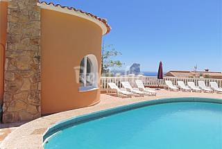 Villa with spectacular panoramic sea views Alicante