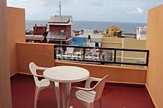 Appartement pour 1-2 personnes à Puerto de La Cruz Ténériffe
