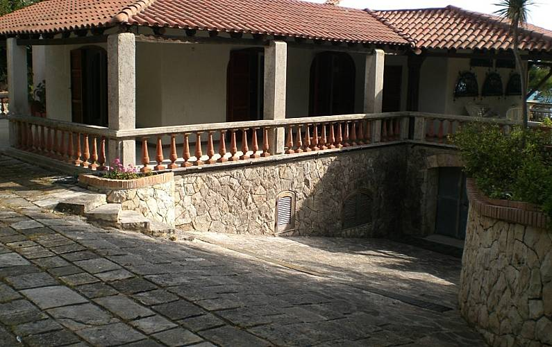 Luminosa Parte esterna della casa Lecce Melendugno villa - Parte esterna della casa