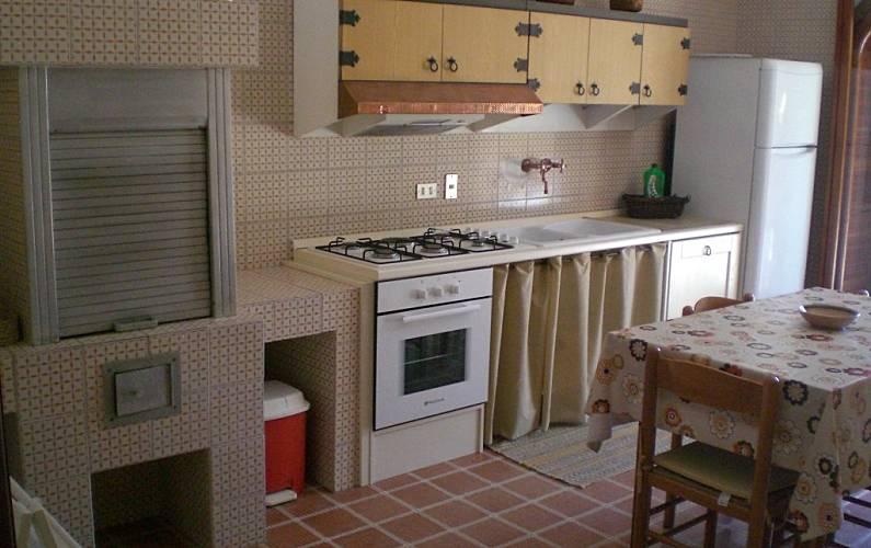 Luminosa Cucina Lecce Melendugno villa - Cucina