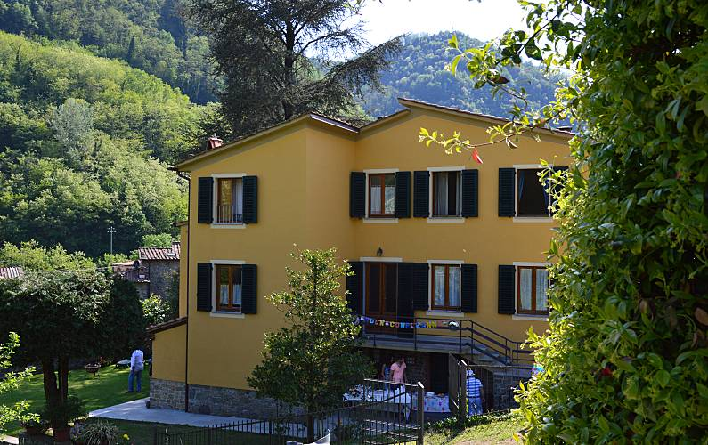 Vivenda Exterior da casa Luca Pescaglia Villa rural - Exterior da casa