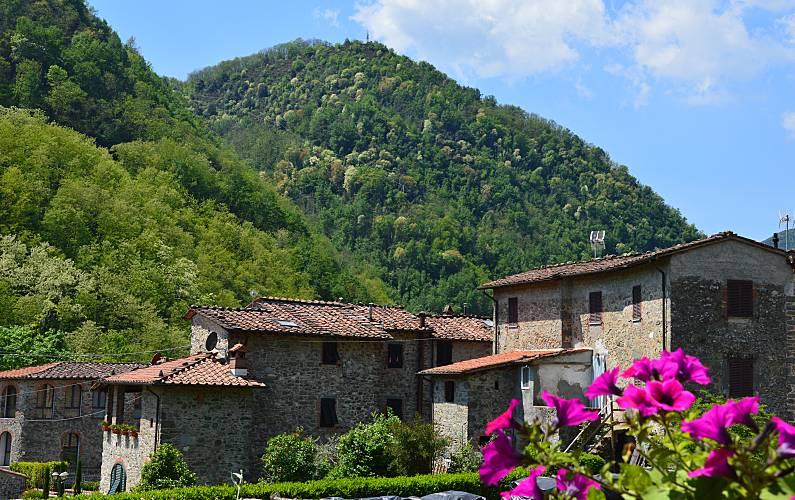 Vivenda Vistas da casa Luca Pescaglia Villa rural - Vistas da casa