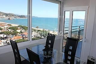 Appartement voor 2-6 personen op het strand Gerona