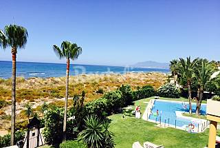 Apartment with 1 bedrooms on the beach front line Málaga