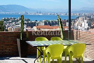 Villa con vistas al mar en Málaga centro (4 pers.) Málaga