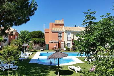 Casa para 6 pessoas a 300 m da praia Huelva