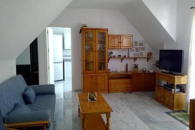 Apartamento com 1 quarto a 50 m da praia Málaga