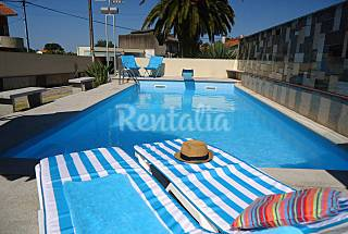 Villa with pool for rent 4 km from the beach Viana do Castelo
