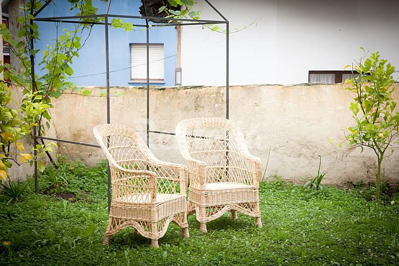 casa jardin asturias casa en alquiler a 1000 m de la playa puerto de vega