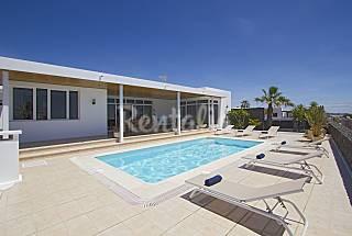 Villa Dois Mares, 3Hab, Espectacular vista al mar  Lanzarote