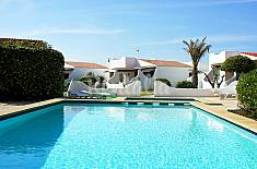 Villa para 6 personas en 1a línea de playa Menorca