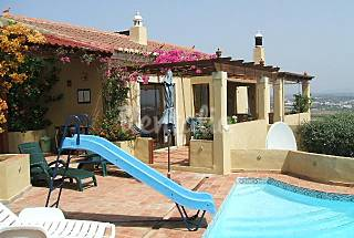 3 bed villa with heated pool and sea views. Lagos Algarve-Faro