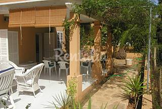House with wide terrace just 300 m from the beach Ibiza