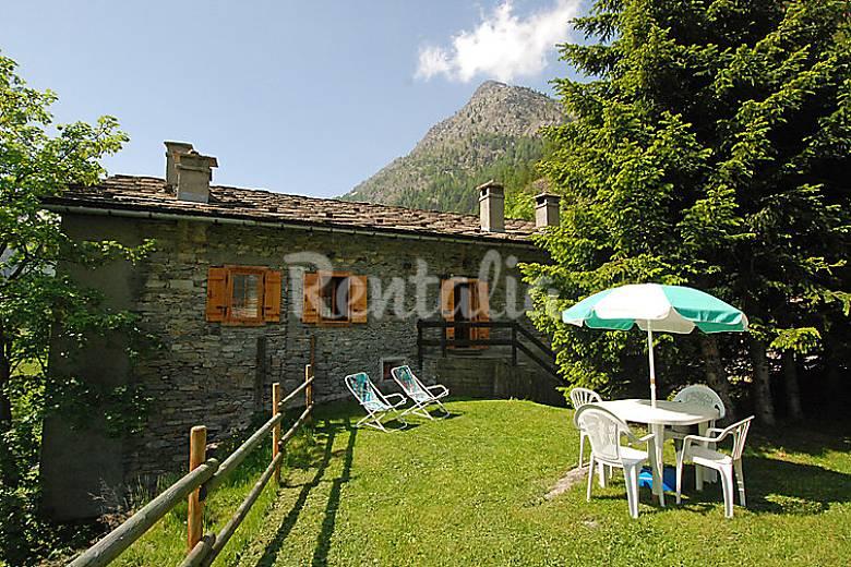 Apartamento para 5 personas Val di Rhemes Aosta