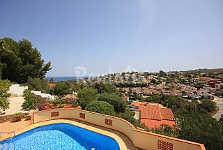 Villa for 6-7 people 3 km from the beach Alicante