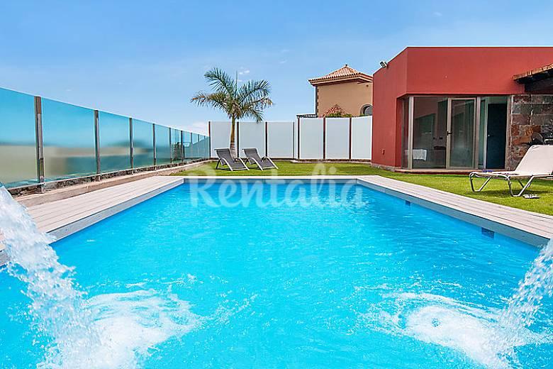 Villa en alquiler con piscina salobre el san - Villas en gran canaria con piscina ...