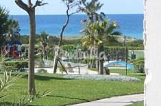 Apartamentos capacidad 2-8 personas-1ª línea play Cádiz