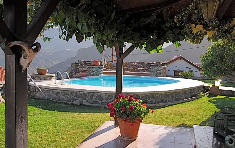 4 Garden Gran Canaria San Bartolomé de Tirajana Cottage - Garden