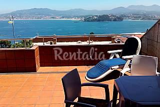 Apartamento de 3 habitaciones con vistas al mar Pontevedra