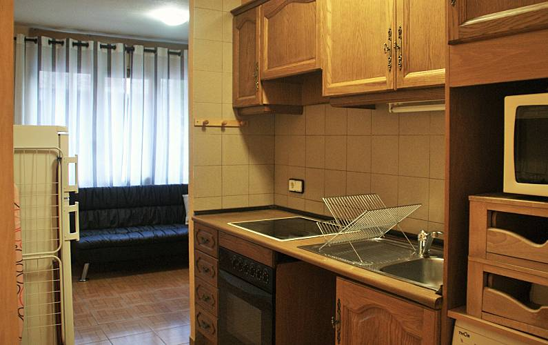 Apartment Kitchen Encamp Apartment - Kitchen