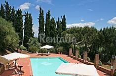 Apartment for rent with swimming pool Siena