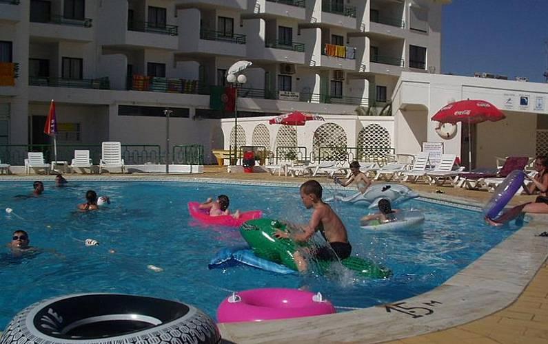 Mágnificos Piscina Algarve-Faro Albufeira Apartamento - Piscina