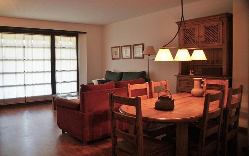Apartamento para 4-7 pessoas Pas de la Casa - Grau Roig - Sala