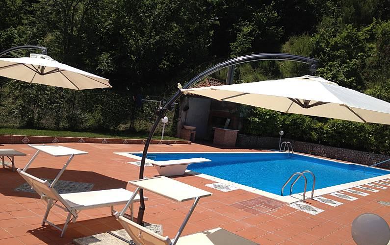Villa Piscina Salerno Cava de' Tirreni villa - Piscina