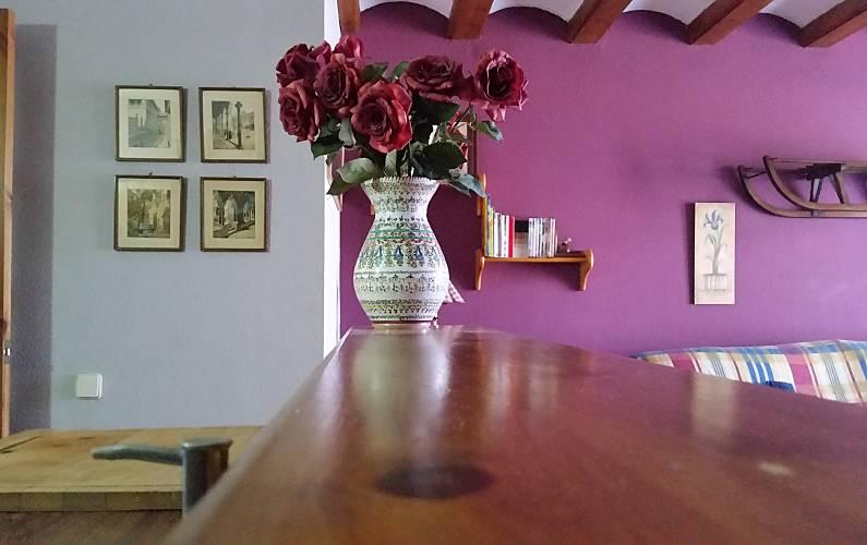 Apartment Living-room Huesca Benasque Apartment - Living-room