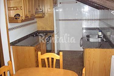 Apartment Kitchen Huesca Benasque Apartment