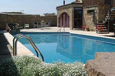 Casa para 4-8 personas con piscina Lleida/Lérida