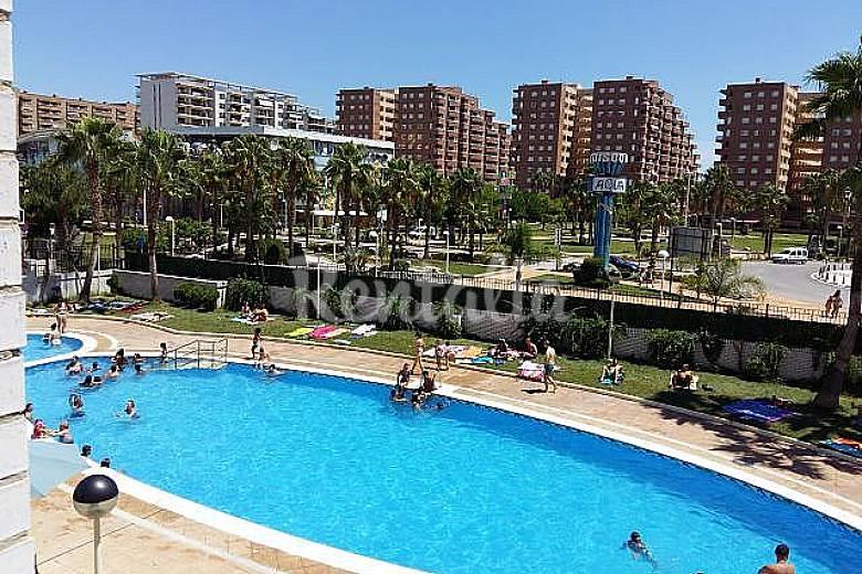 Apartamento para alugar com piscina Castelló