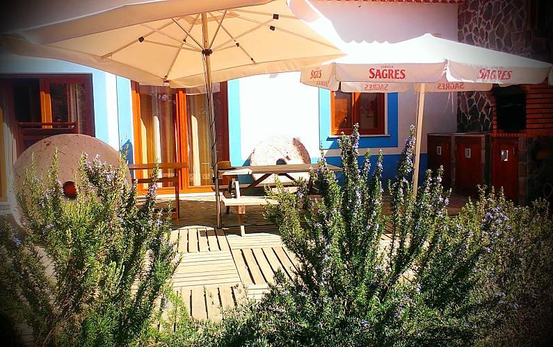 Surf Terraço Algarve-Faro Aljezur casa - Terraço