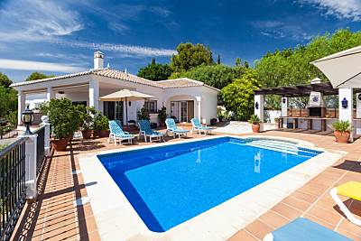 Villa para 8-11 personas a 3 km de la playa Málaga