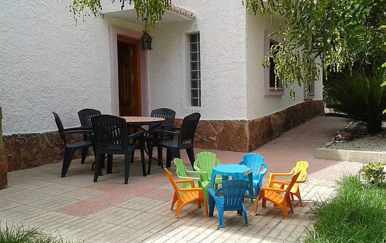 Vivenda com 6 quartos a 15 km da praia Valência - Terraço