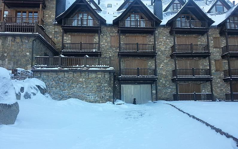 Apartment Outdoors Huesca Benasque Apartment - Outdoors