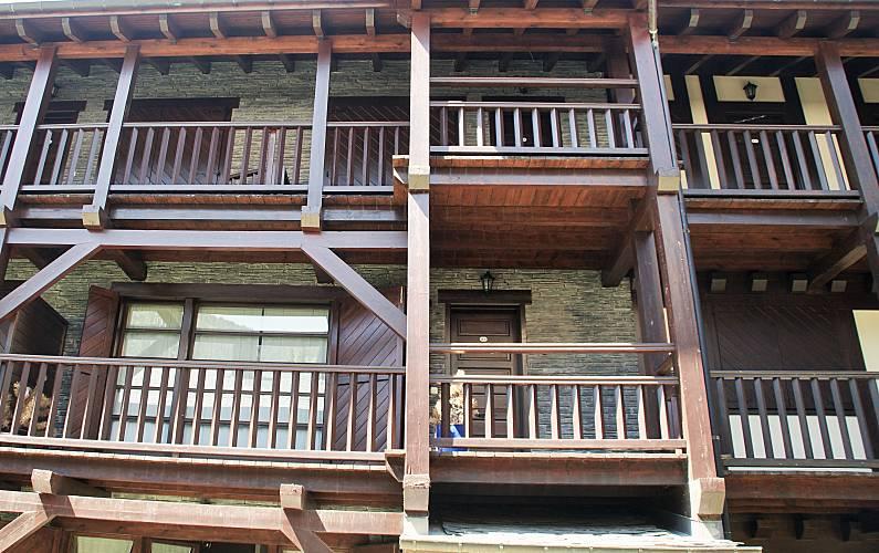 Apartamento Exterior da casa Canillo Apartamento - Exterior da casa