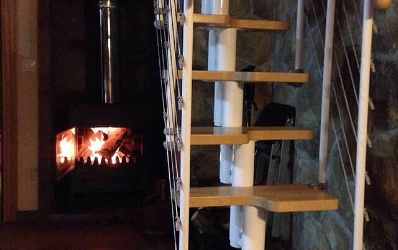 2 Living-room Huesca Sallent de Gállego House - Living-room