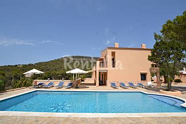 Luxury Swimming pool Ibiza San José villa