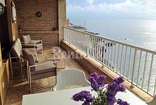 Apartamento de 4 habitaciones en 1a línea de playa Murcia