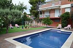Villa with 5 bedrooms only 1500 meters from the beach Barcelona