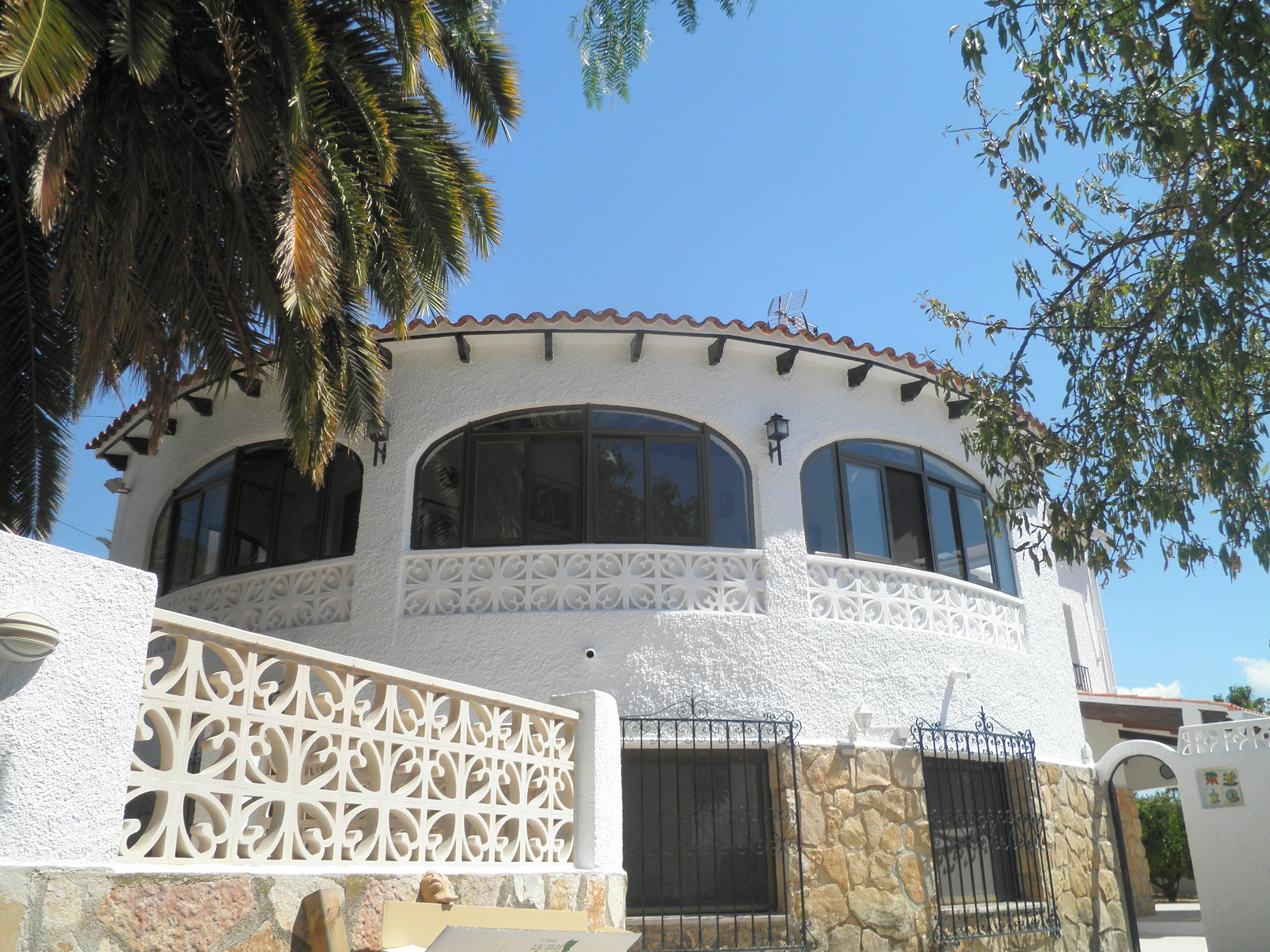 Villa en Calpe. Piscina-jardines exóticos privados - Calpe/Calp ...