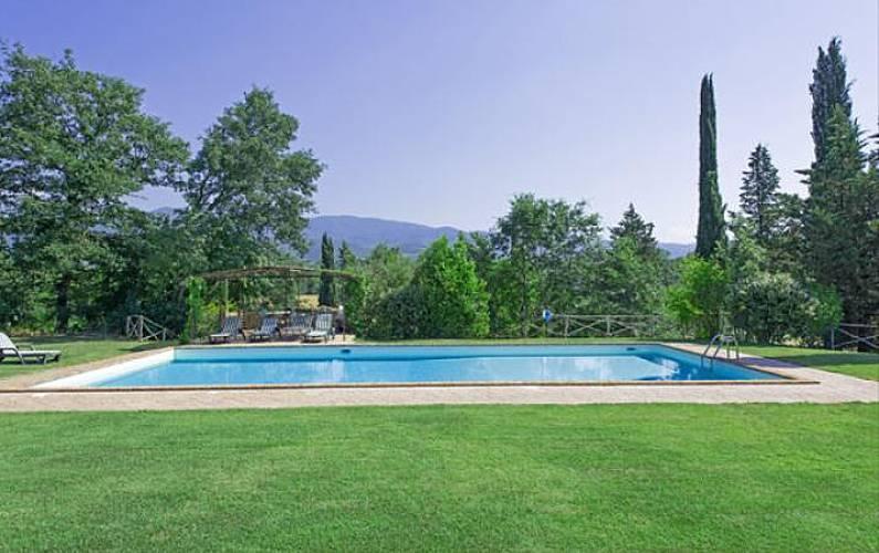 Casa in affitto con piscina terranuova bracciolini arezzo strada del vino terre di arezzo - Piscina terranuova bracciolini ...