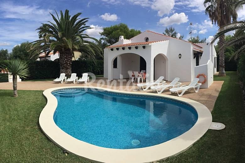 villa en alquiler con piscina en cap d artruitx cap d