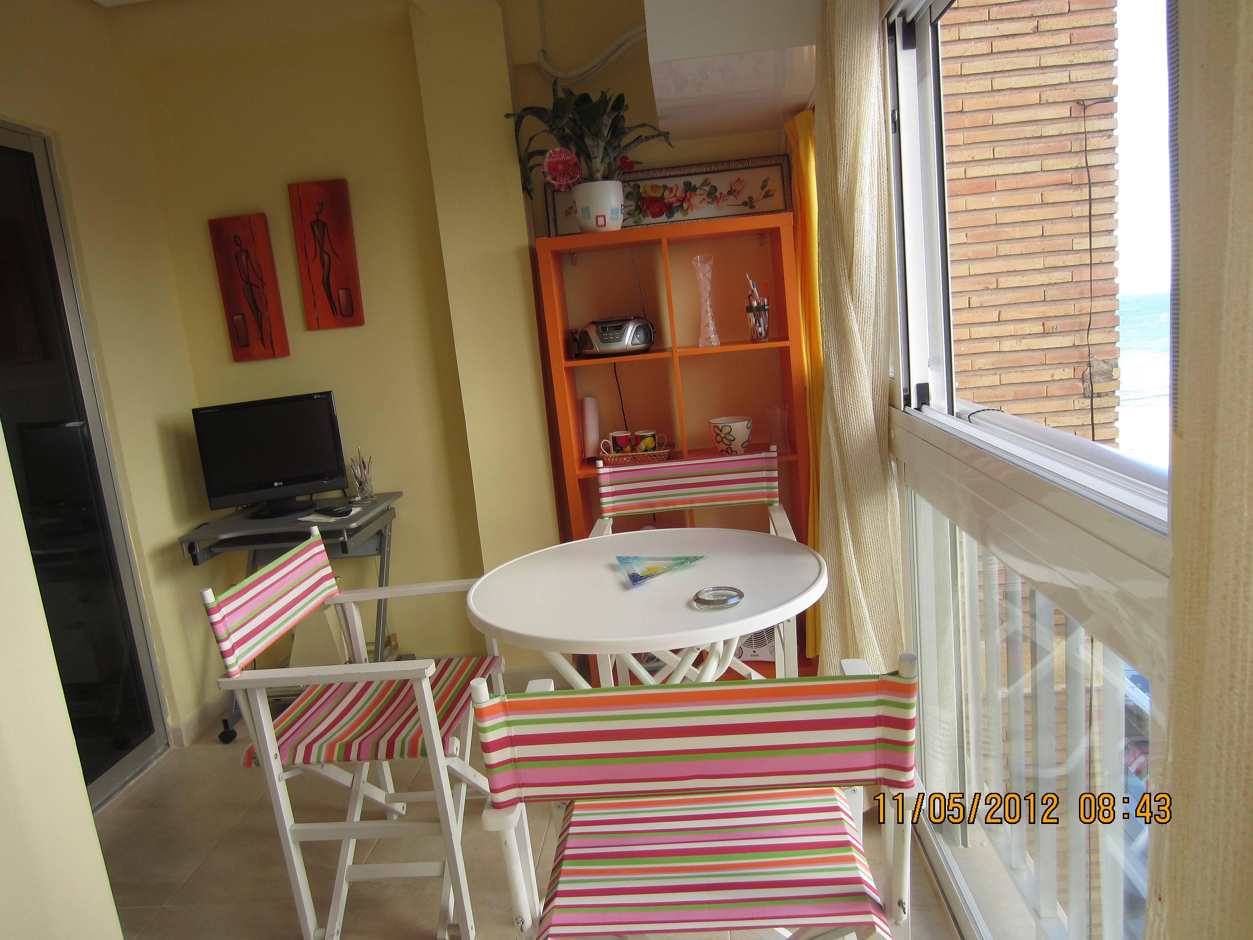 Apartamento en alquiler en 1a l nea de playa benidorm - Apartamentos de alquiler en benidorm baratos ...