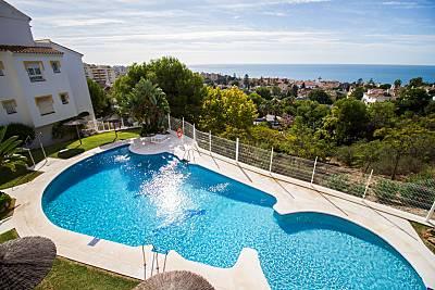 Apto.céntrico con 3 piscinas  cerca  de la playa  Málaga