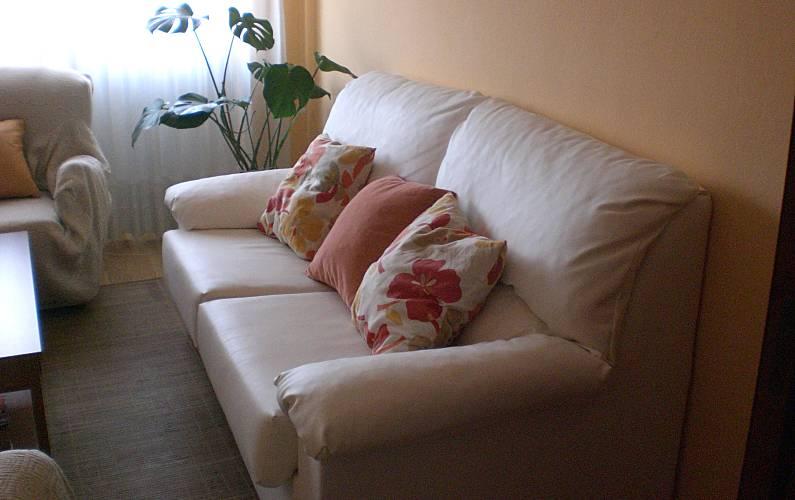 Appartamento in affitto nel centro di Gijon Asturie - Salotto
