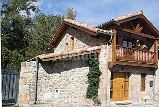 House for 6-10 people with private garden Cantabria