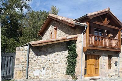Casa para 8-11 personas con jardín privado Cantabria