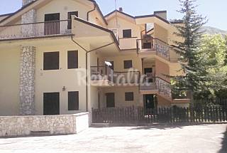 House in the mountains with fireplace L'Aquila
